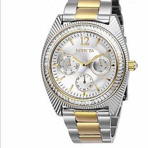 Invicta women's angel quartz crystal watch